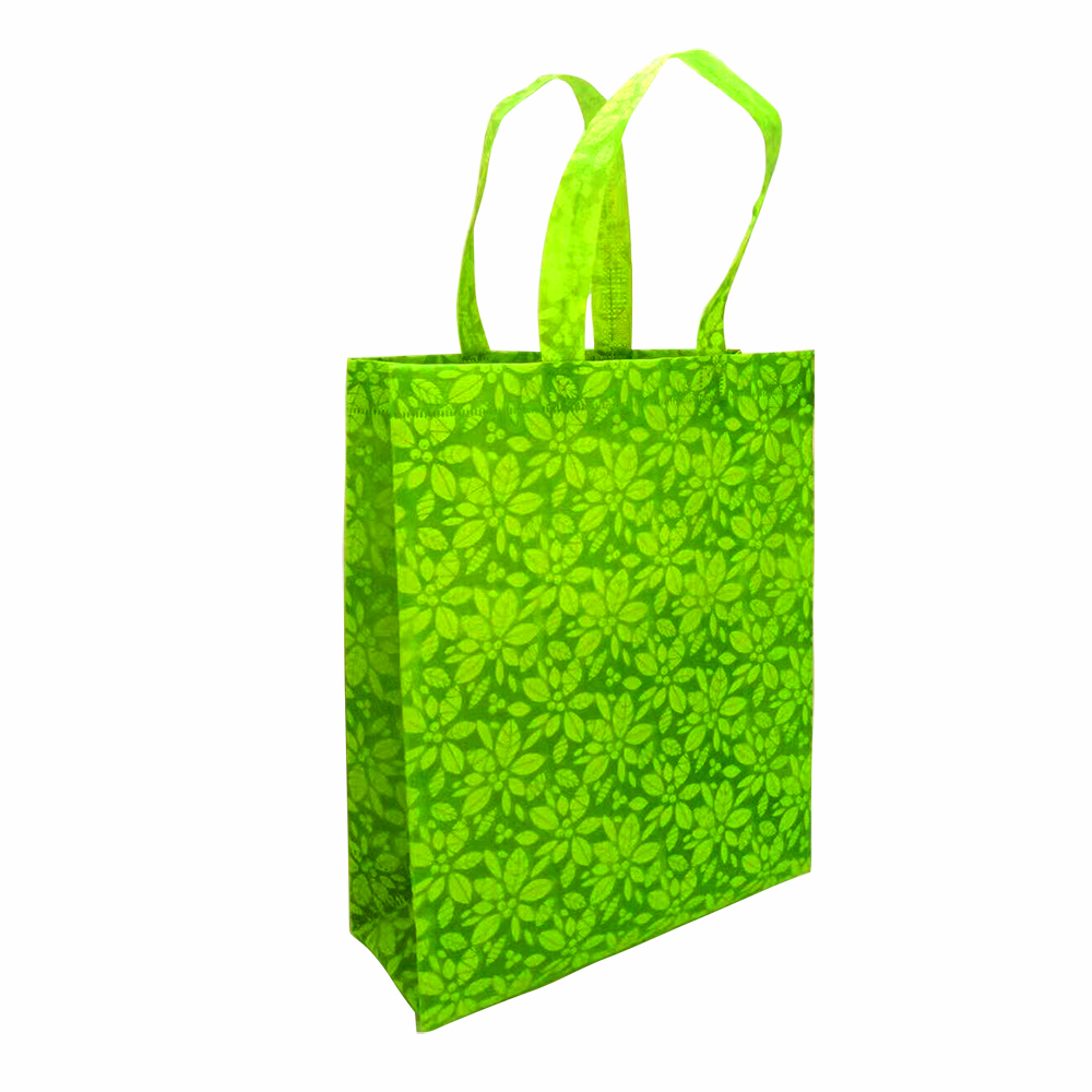 AFTHH0243 Eco-friendly carved Christmas pattern non-woven Shopping bag with handle