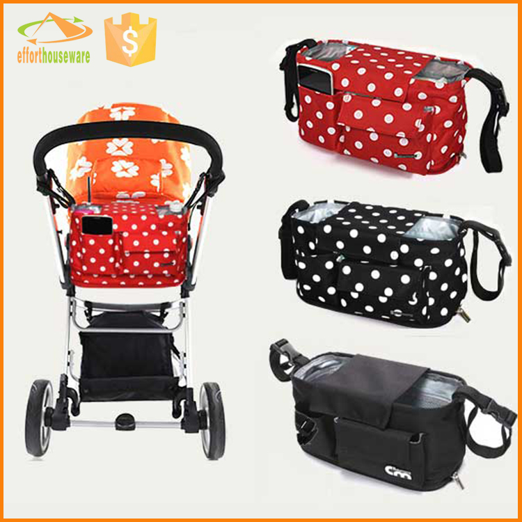 EFTSBY588 Polyester portable stroller check travel bag for mummy