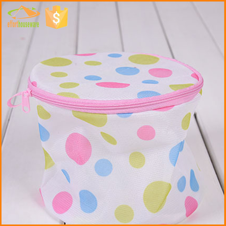 EFTSBY570  Dot printing wholesale bra and sock laundry bag