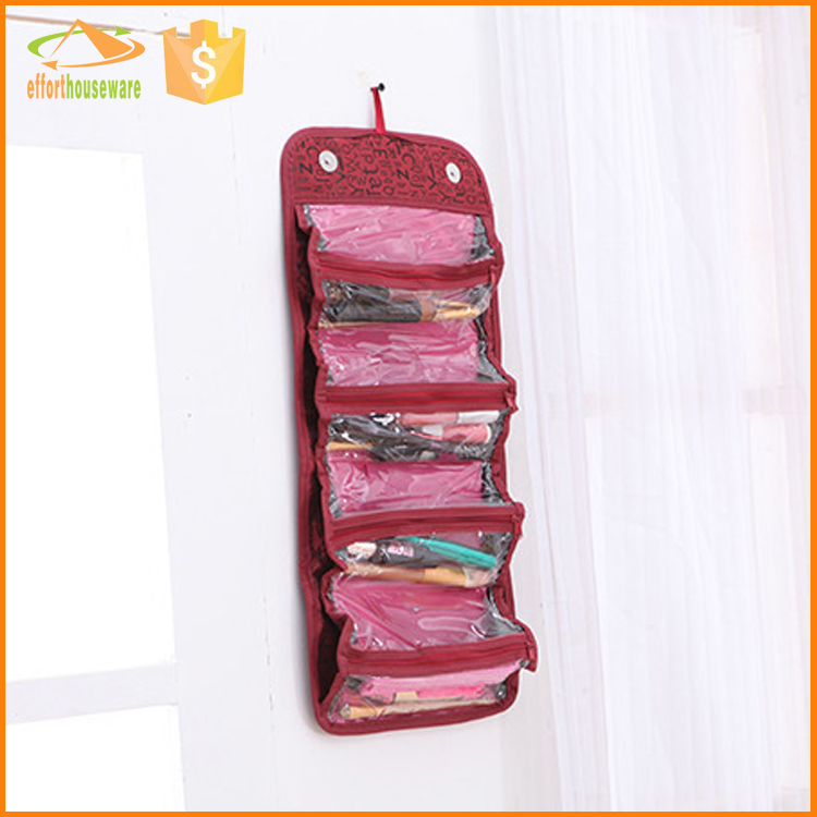 EFTSBY494 multifunction pocket wholesale pvc canvas cosmetic bag