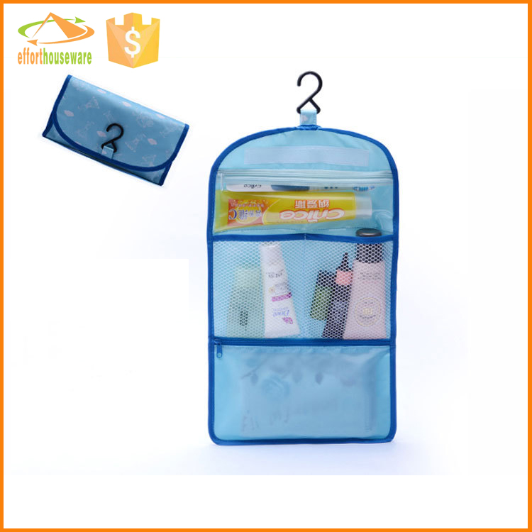 EFTSBY492 Mesh hanging bathroom Foldable travel storage bags