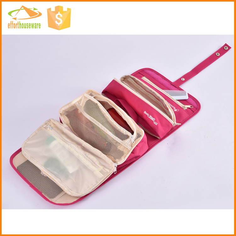EFTSBY481 Muti-functional Polyester Travel cosmetic bag in bag storage case