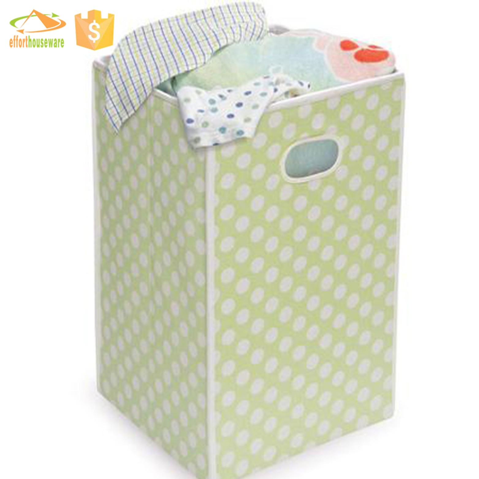 EFTSBY402 Fashion and Modern Household Canvas Folding laundry basket