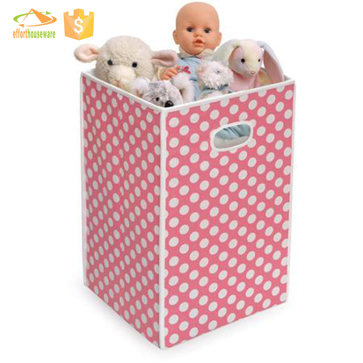 EFTSBY401 New Arrival washable fabric paper board Laundry Hamper