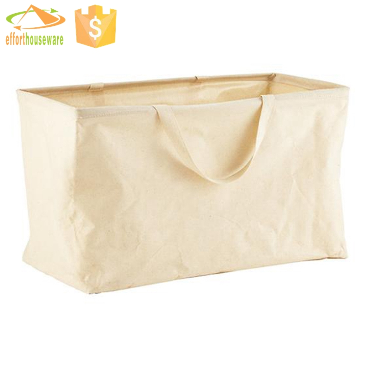 EFTSBY180 organza bags wholesale white recyclable with handle