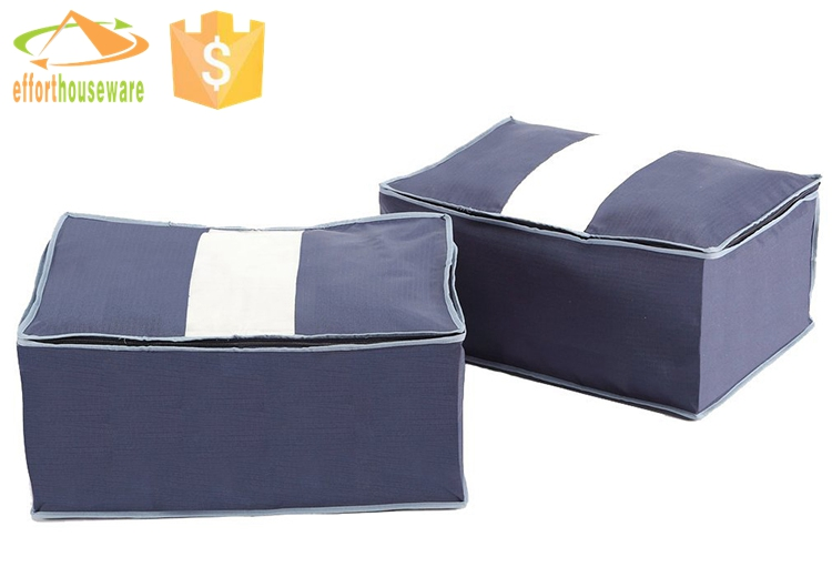 EFTSBY125 PE window clothing storage bag clothes organizer bag to pack clothes