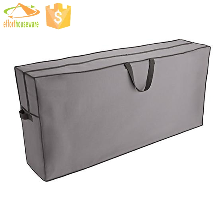 EFTSBY118 Grey Nonwoven foldable zipper quilt packaging carrier bag