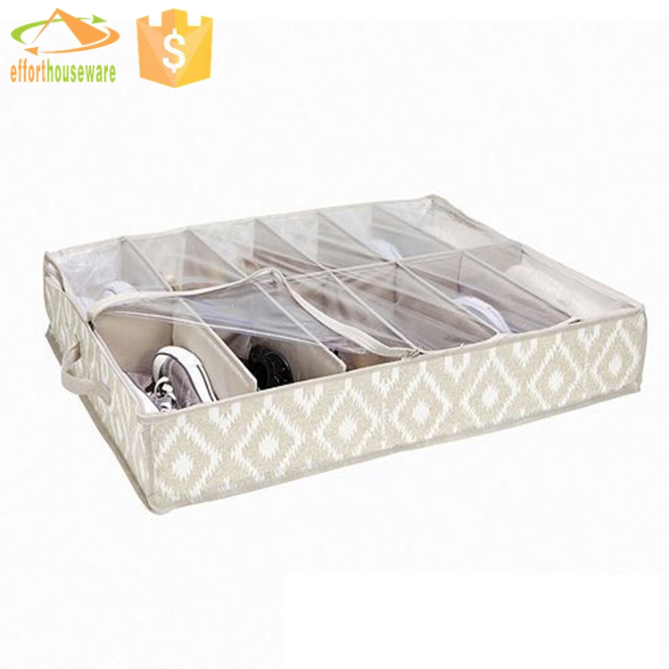 EFTSBY150 Hot selling Nonwoven underbed shoe storage box