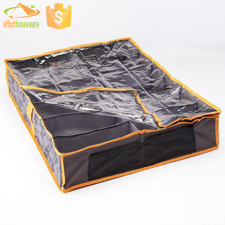 EFTSBY266 Wholesale foldable cotton shoe storage bag