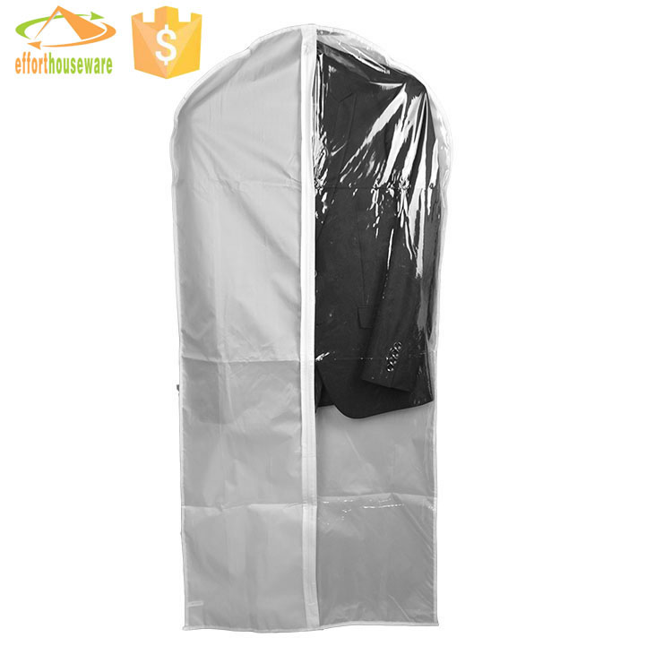 EFTSBMD015 promotional Polyester with zipper lock custom cloth garment bags
