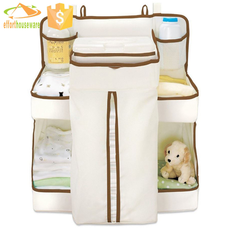 EFTSBBH006 Hanging Nursery Organizer Storage Baby Diapers case for Sale