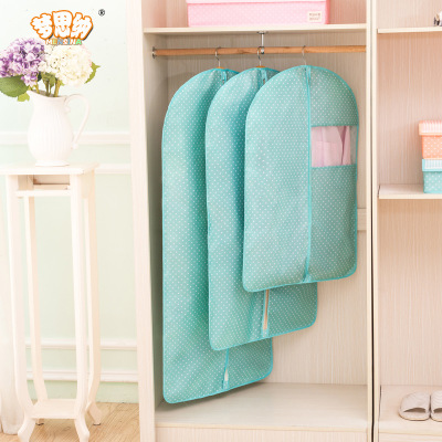 EFTSBY667 Translucent Washable PEVA Clothes Covers Dustproof Garment Cover Organizer Storage Bag