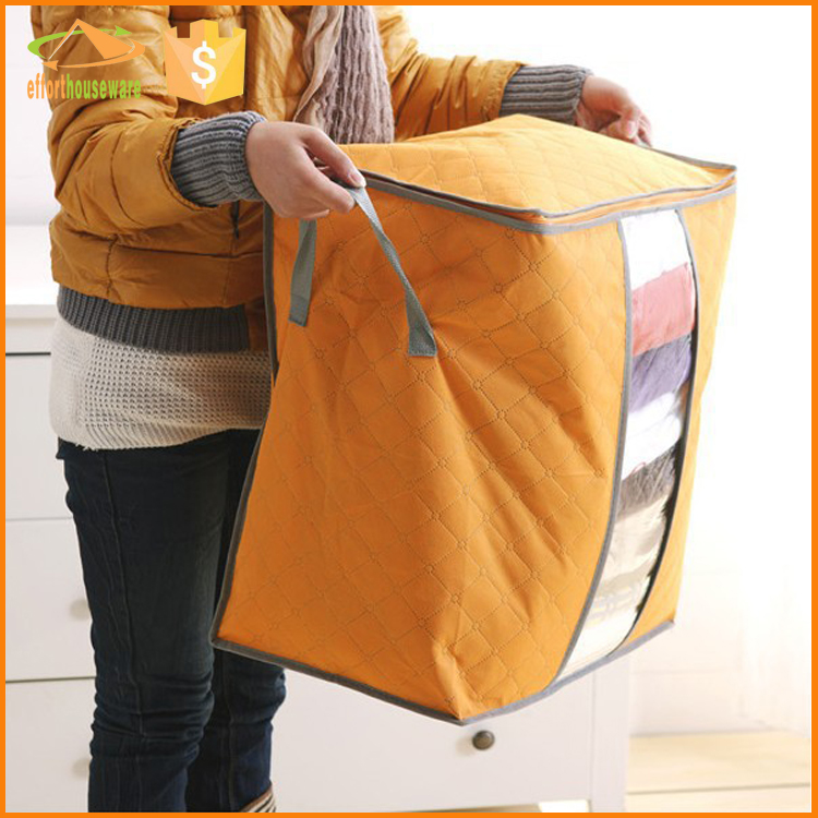 EFTSBY618 New Large Jumbo Duvet Bedding Clothing Blanket Zipped Storage Bag Box Container