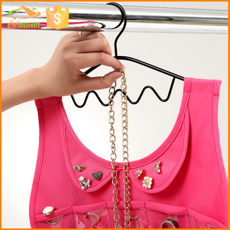 EFTSBY491B Large multifunctional hanging Jewelry wall organizer
