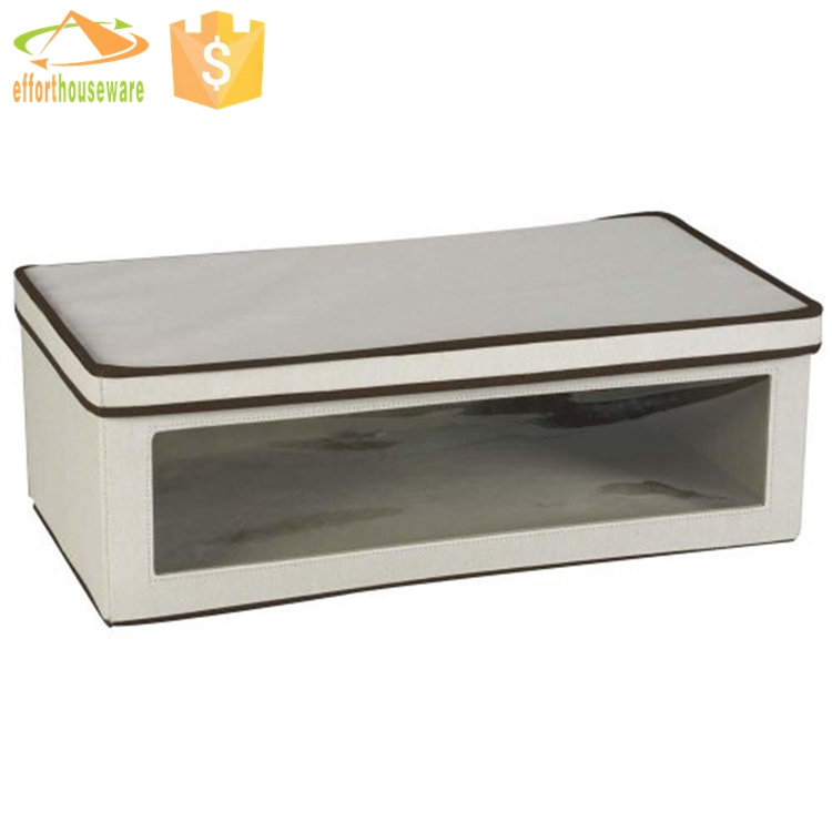 EFTSBY015 Large PVC window for Blanket tissue box storage box